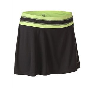 NWT Champion Duo Dry Black Skirt with Inner Shorts